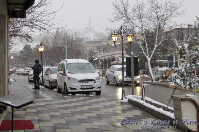 А в Каппадокии снег
