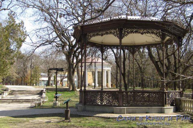Парк в Ессентуках