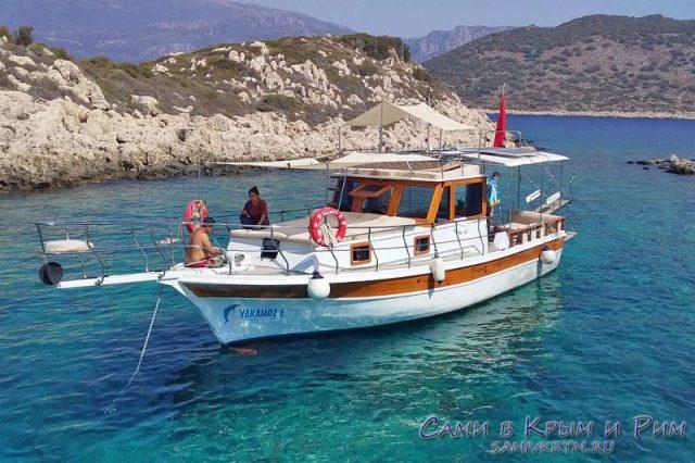На лодке в Каше