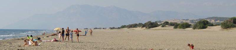 Огромный пляж Патара