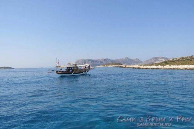 Яхты вокруг Каша